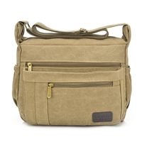 2014 New Vintage Casual Canvas Leisure Messanger Bags Travel Sport Crossbody Shoulder Bag O 0828