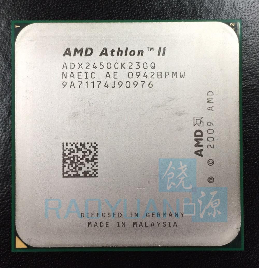 AMD Athlon X2 245 2.9GHz Dual-Core CPU Processor ADX245OCK23GQ  ADX245OCK23GM Socket AM3 938pin