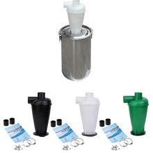 Циклонный фильтр пылесборника с турбонаддувом циклон с фланцевым основанием сепаратор