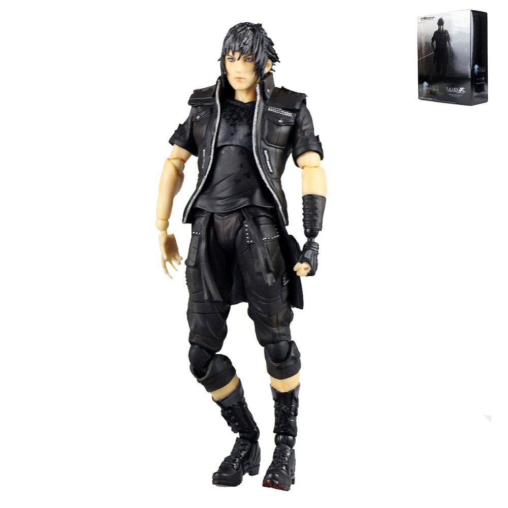 Play Arts Kai Final Fantasy XV  Noctis Lucis Caelum Anime Action Figure Children Model Toy PAK001053 Free Shipping