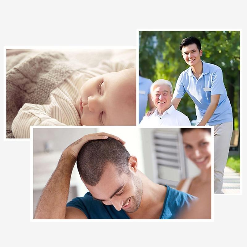 KM-1990 tondeuse à cheveux Rechargeable professionnel tondeuse à cheveux Machine à raser les cheveux coupe barbe rasoir électrique pour les hommes - 4