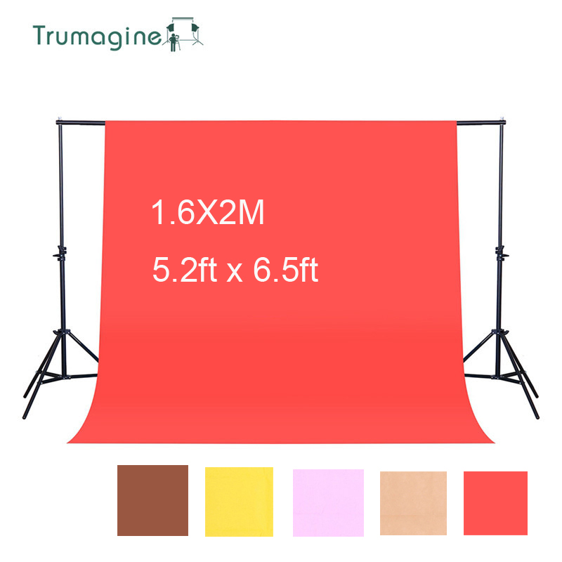 1.6X2M/5.2*6.5ft Photography Backdrop Photo Studio Shooting Screen Non-Woven Photo Background Chromakey Cloth Backgrounds