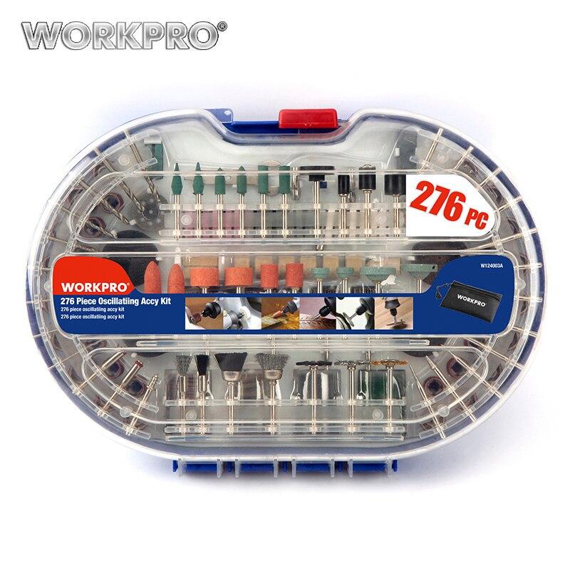 WORKPRO 276 PC Dreh Werkzeug Zubehör für Dremel Bit Set Stecher Schleif Werkzeuge Zubehör