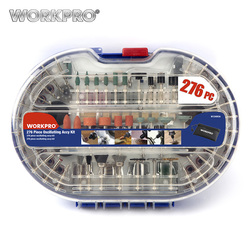 WORKPRO 276PC Rotary Tool Accessories for Dremel Bit Set Engraver Abrasive Tools Accessories