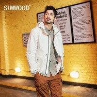 SIMWOOD 2019 New Jacket Men Fashion Spring New Hooded Casual Jacket Hip Hop Streetwear Windbreaker Plus Size Clothing 190104