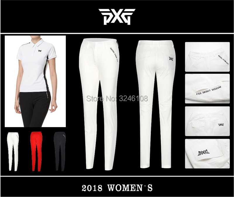 New woman Pants Golf Sports Trousers Autumn all-match Long Pants Spring Golf Apparel 3 Colors woman Brand Golf Pants all over florals pants
