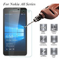 Tempered Glass Screen Protector For Nokia 6 Lumia 630 640XL 640 535 550 520 530 532 435 1320 1520 650 730 820 830 950 Film Case