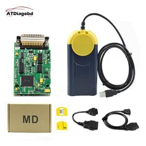 2019 Diagnostic tool Multi-Diag Multi Diag Access J2534 v2018.3 interface OBD2 Device Multidiag J2534 with free shipping(China)