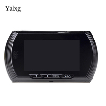 Yalxg Secuirity Home 4 3 Inch Motion Detection Door Peephole 140 Degrees Video Viewer Camera with