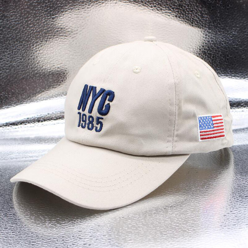 New Style New York 1985 Hat America Great New Hats Women Caps Brand US Flag UU Baseball Cap For Men Outdoor Sports Snapback