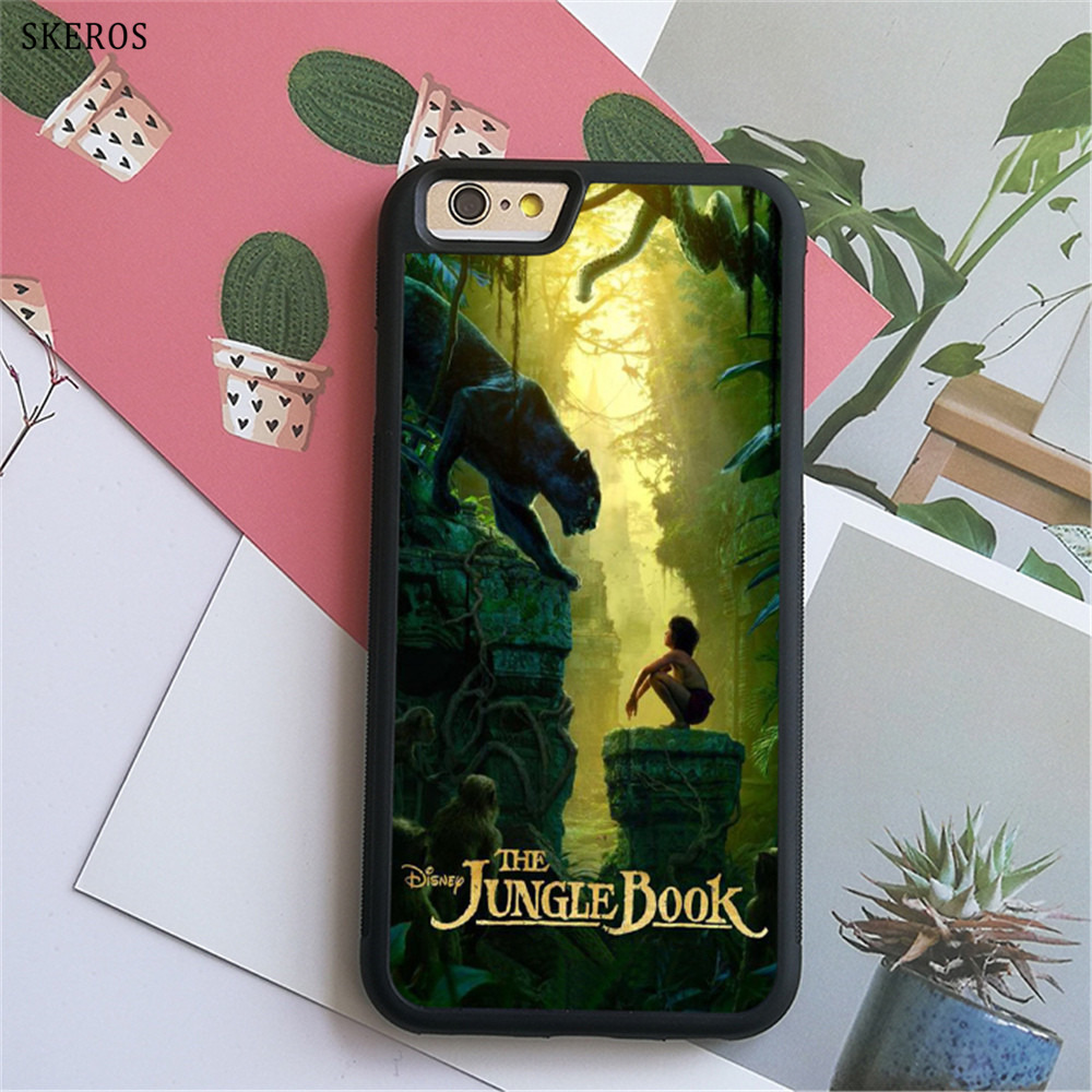 SKEROS The Jungle Book 1 (2) phone case for iphone X 4 4s 5 5s 6 6s 7 8 6 plus 6s plus 7 & 8 plus #B734