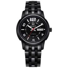 HOJUT A49 men automatic mechanical dual display calendar fashion sport militar amry wristwatch watches
