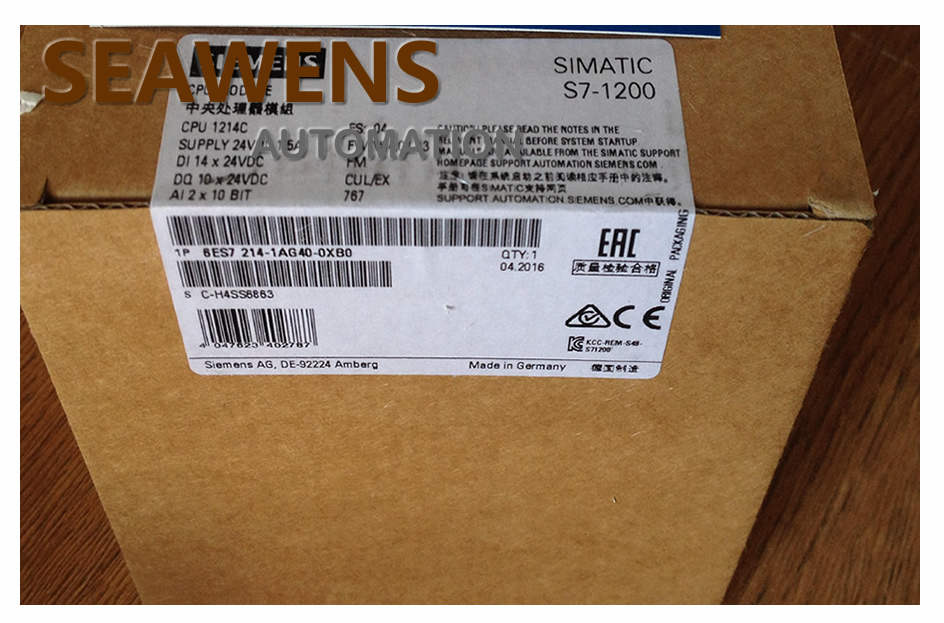 6ES7214-1AG40-0XB0 6ES7 214-1AG40-0XB0 S7-1200 1214C CPU PLC MODULE , HAVE IN STOCK s plc 6es7214 1ad23 0xb0 new in box
