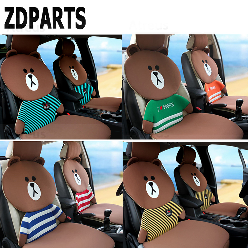 ZDPARTS Cartoon Car Seat Cushion Covers Warm Family Team For BMW E46 E39 E60 E90 E36 F30 F10 X5 E53 E34 E30 Mini Cooper Lada 10pcs m mpower m tech emblem badge sticker wheel decal for bmw e46 e30 e34 e36 e39 e53 e60 e90 f10 f30 m3 m5 m6 car styling