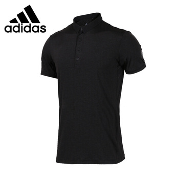 Original New Arrival  Adidas HEATHERED POLO Men's  POLO  short sleeve Sportswear