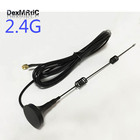 2.4GHz 7dBi High gain Omni WIFI Antenna Magnetic base 3M cable SMA male #1