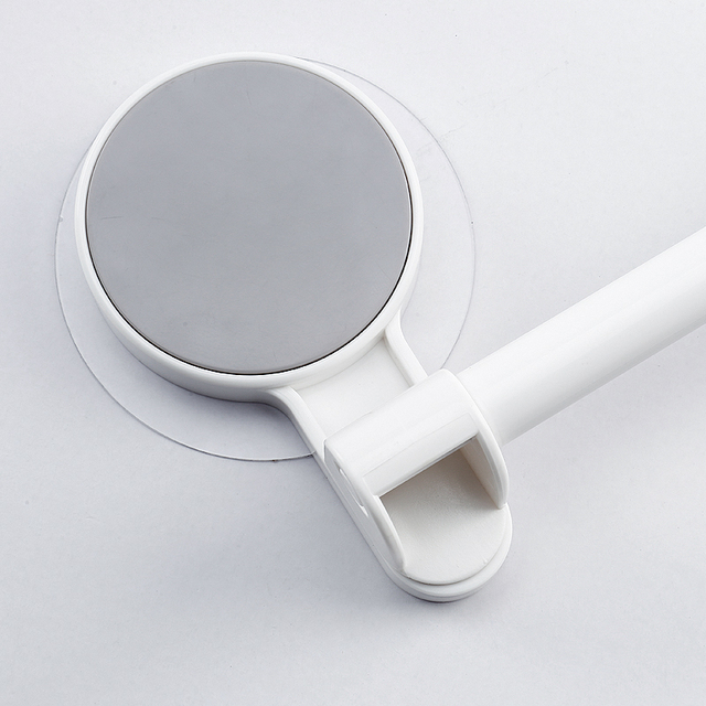 White Plastic Paper Towel Holder