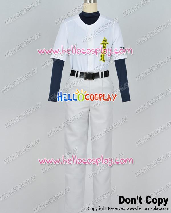Ace Of Diamond Eijun Sawamura Baseball Uniform Cosplay Costume H008