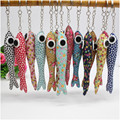 10pcs big eyes fish/monkey animal cloth pendants,toys key chain,kids baby Christmas birthday wedding promotion gifts girls boys