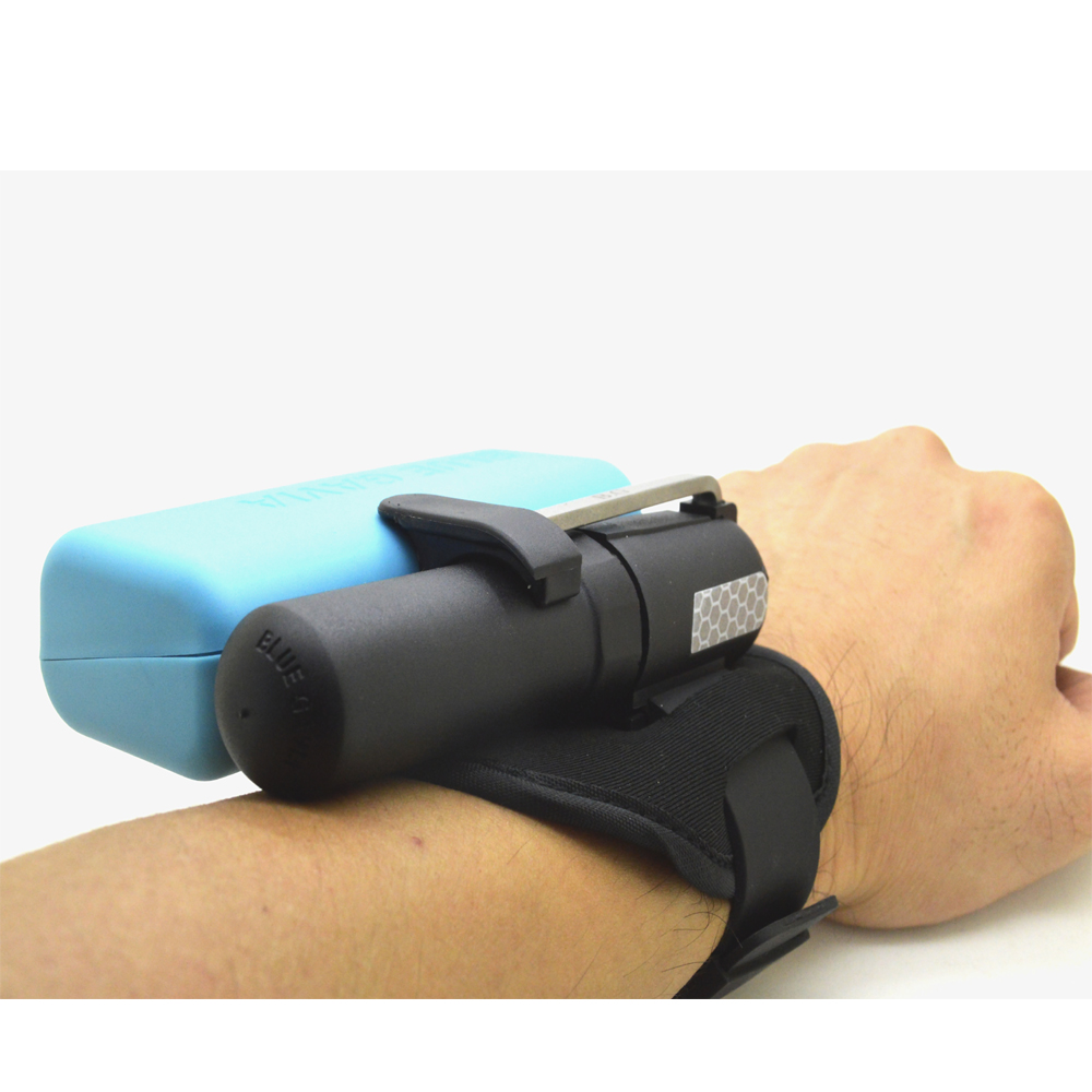 BLUE GAVIA Mini Auto-Inflation Air Bag with Blue Bag to Cover Co2 Steel cylinder for Outdoor Swimming Sports Life-Safe DeviceBLUE GAVIA Mini Auto-Inflation Air Bag with Blue Bag to Cover Co2 Steel cylinder for Outdoor Swimming Sports Life-Safe Device