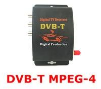 Auto tv tuner dvb-t mpeg- 4 digitale tv ontvanger mini box tv box gratis verzending