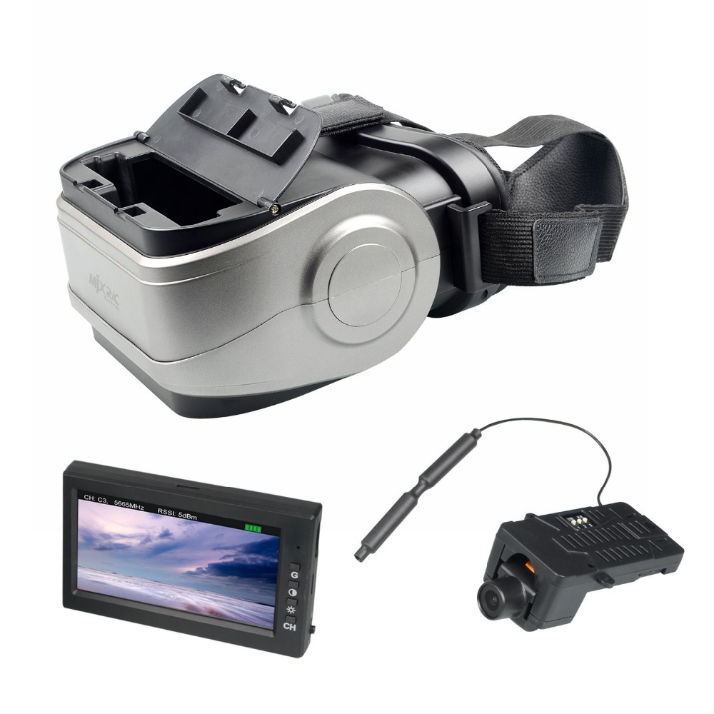 MJX B3 B6 B8 RC Helicopter Spare Parts C5020 / C5830 Camera D43 LCD Screen G3 Goggles 5.8G FPV Real-time Image Transmission