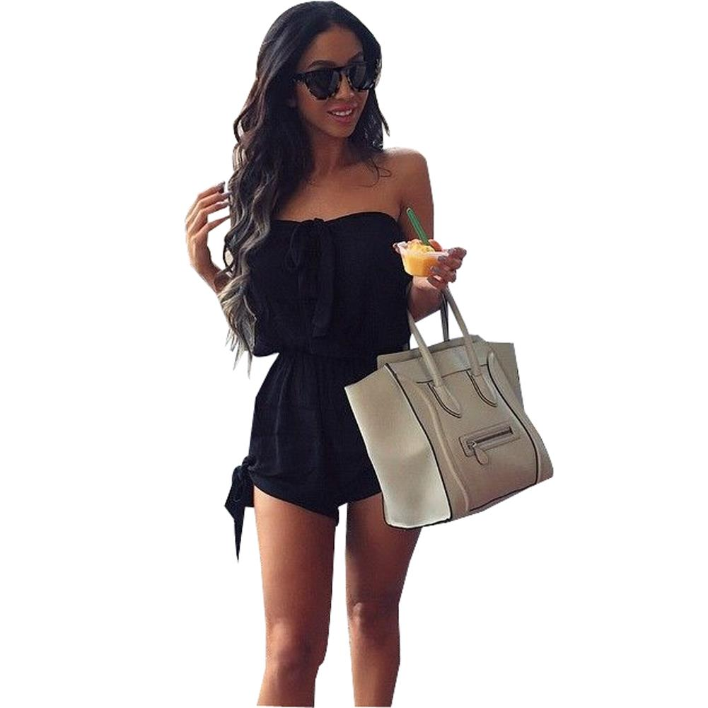 Online Get Cheap Black Jumpsuit Shorts Plus Size -Aliexpress.com ...