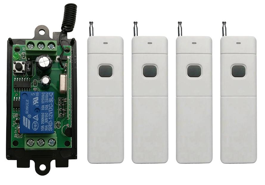 3000m Long Range Dc9v 12v 24v 1ch Rf Wireless Remote