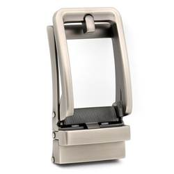 Ремень Пряжка Новая мода Автоматическая пряжка мужской костюм для: 3,3-3,6 см ремень agio Серебристый \ черный цвет