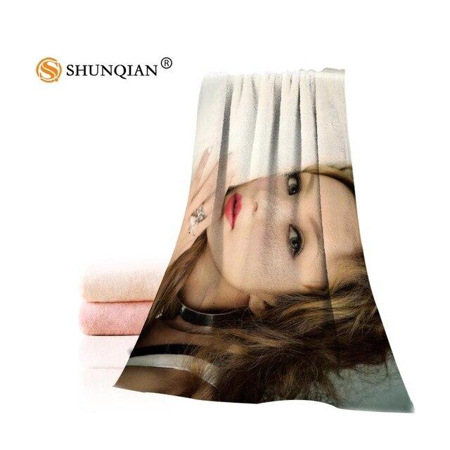Hot Custom Namie Amuro Asciugamano di Cotone Stampato Viso/Asciugamani Da Bagno