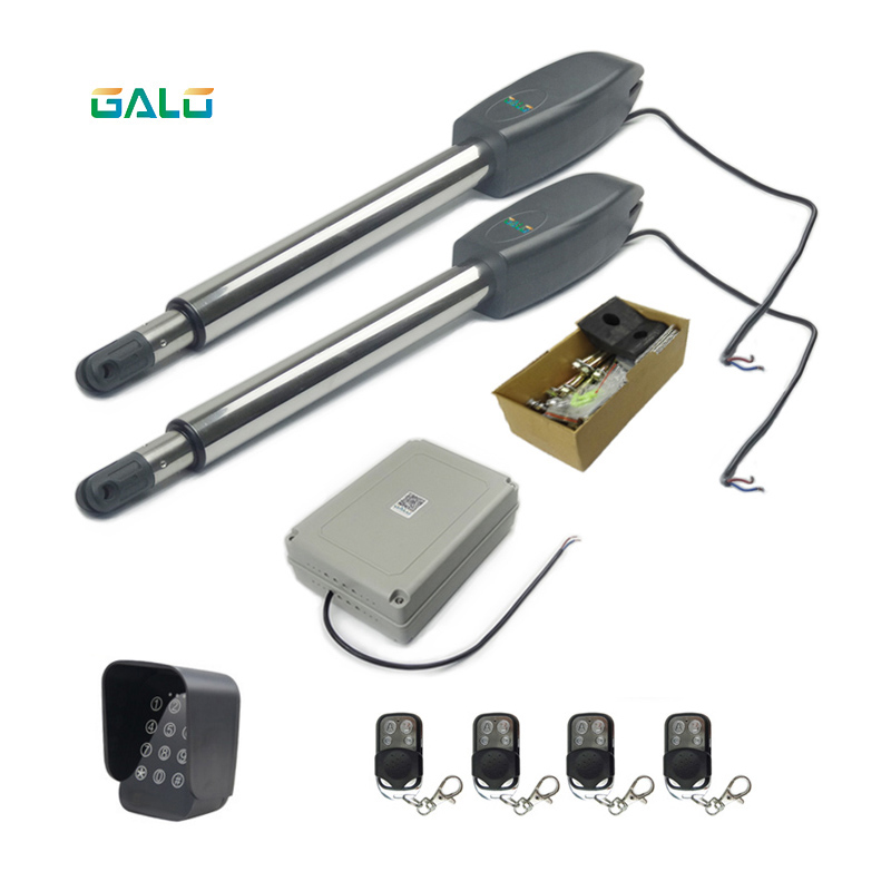 auto gate system automatic swing door operator motor