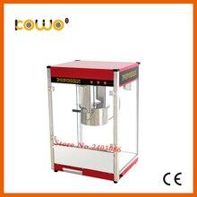 Коммерческих автоматический Электрический попкорн машина ce 220 В защита от перегрева 1 лоток/3 мин. 12 унц. попкорна кухонная техника