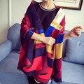 2016 Autumn and winter new style Graffiti imitation cashmere scarf fashion women soft printing all-match shawl scarf 13