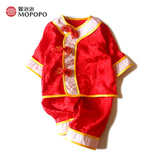 Chinese Style Mulberry Silk Newborn Baby Girl Clothes Set 2017 New Baby Girl Clothing Sets Cute Infant Girl Clothes