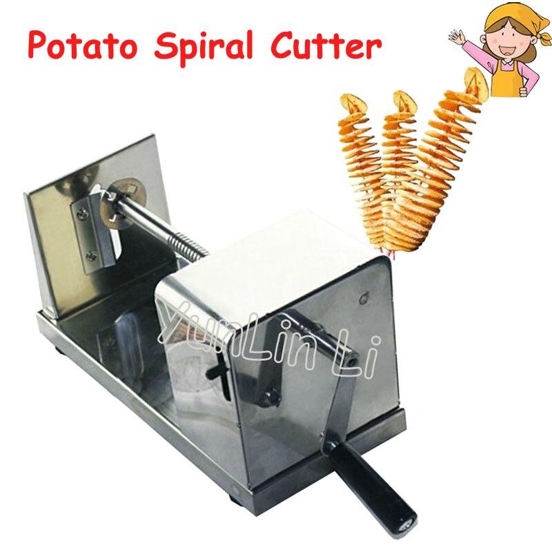 4pcs/lot Potato Spiral Cutter Manual Potato Cutting Tool Potatoes Maker potato p4012