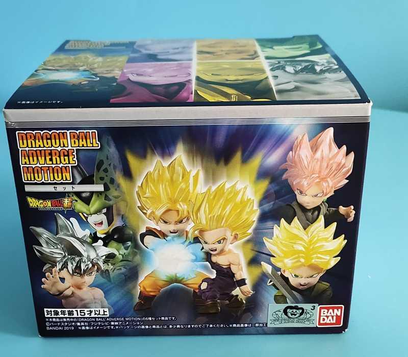 BANDAI Dragon Ball Z DBZ Goku Gphan Adverge MOVIMENTO Rosa Célula Goku Trunks PVC Figura Brinquedos Bonecas Figurals