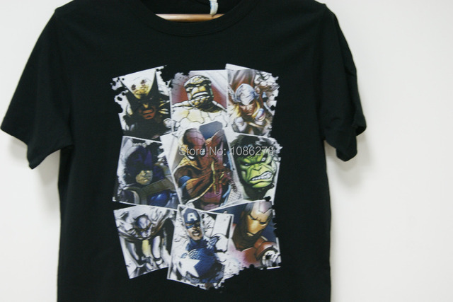 Marvel – Scatter Up Tshirt