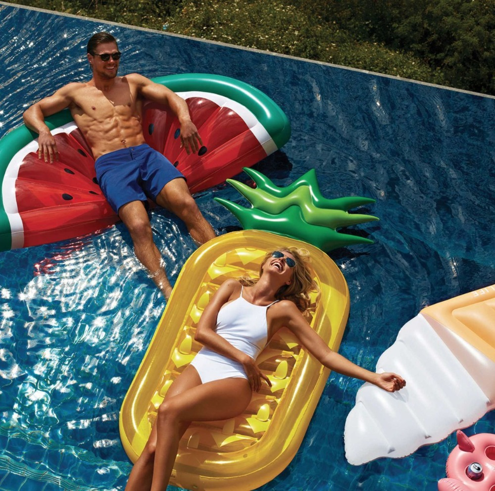 High quality inflatable floating island in water giant for Giant swimming pool