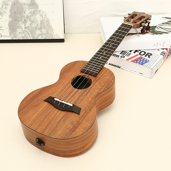 Enya X1 23inch Hawaii Concert Tenor Koa Ukulele With Classical Head With Bag