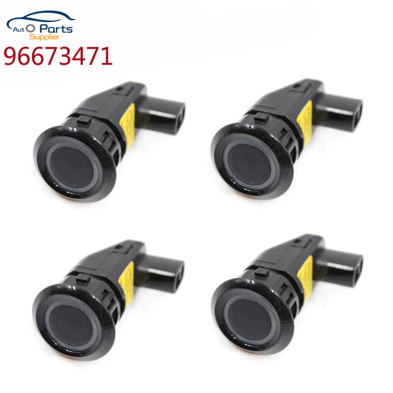 96673471 4Pcs/Lot Black color 96673464 96673474 PDC Parking Sensor For Chevrolet Captiva Ultrasonic Wireless car-in Parking Sensors from Automobiles & Motorcycles