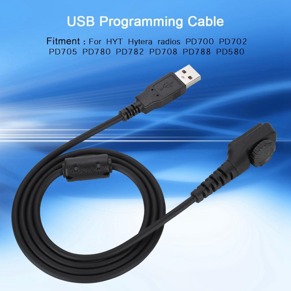 USB Walkie Talkie Programming Cable Write Frequency Line for Hytera PD 780