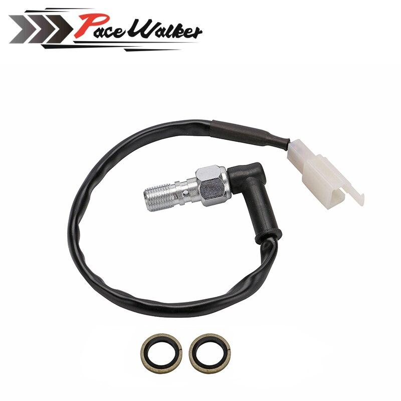 Motorcycle Hydraulic Brake Pressure Light Switch