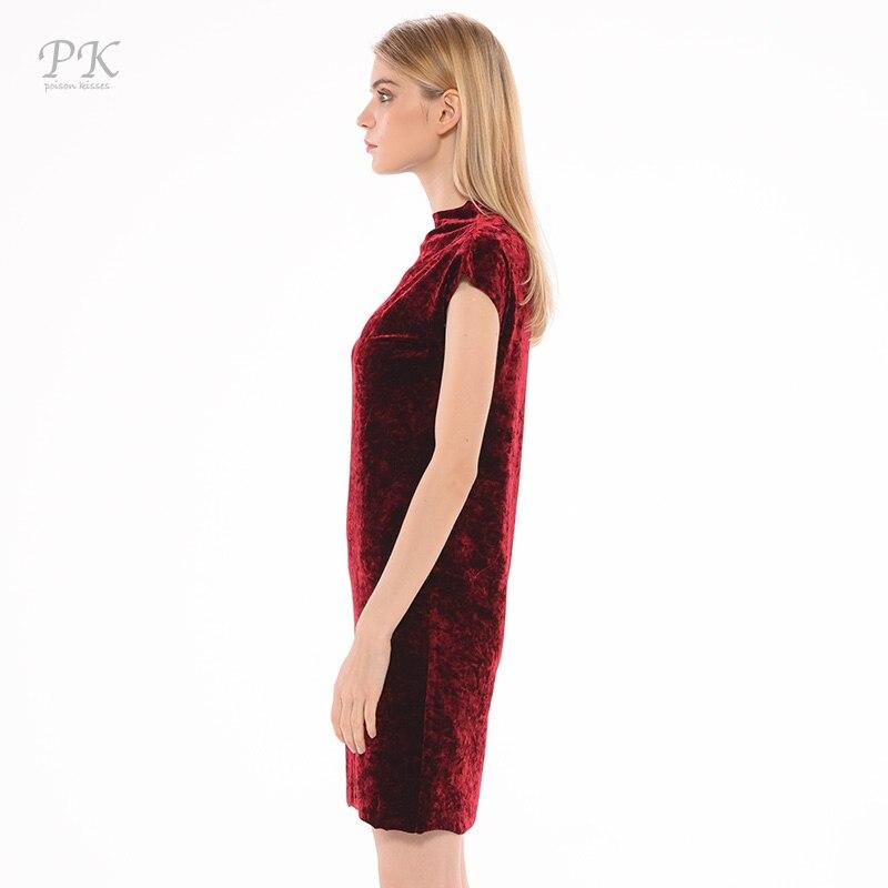 d8fa6a37f296 PK vestito di velluto rosso estate 2018 colore del vino di stile cinese  cheongsam da sera del partito abiti d epoca delle donne vestidos mujer  velluto in PK ...