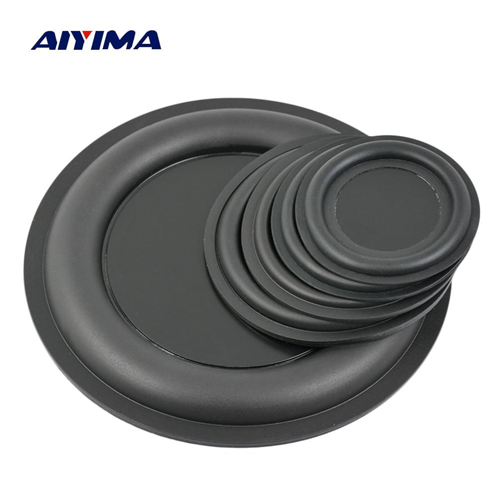 AIYIMA 2Pcs Audio Bass Diaphragm Passive Radiator Speaker Repair Parts 67/75/85/95/160mm DIY Home Theater Speaker Accessories