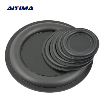 AIYIMA 2Pcs Audio Bass Diaphragm Passive Radiator Speaker Repair Parts 67/75/85/95/160mm DIY Home Theater Speaker Accessories