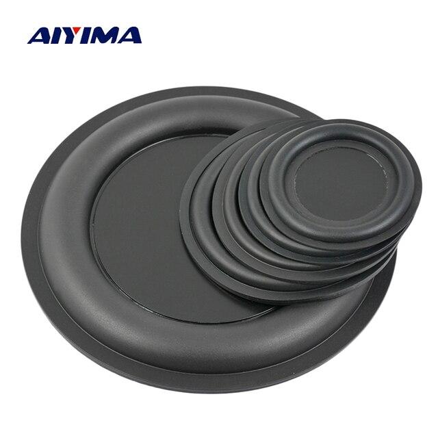 AIYIMA 2 piezas de Audio bajo el diafragma radiador pasivo altavoz piezas de reparación/67/75/85/95/160 mm DIY de altavoces para cine en casa Accesorios