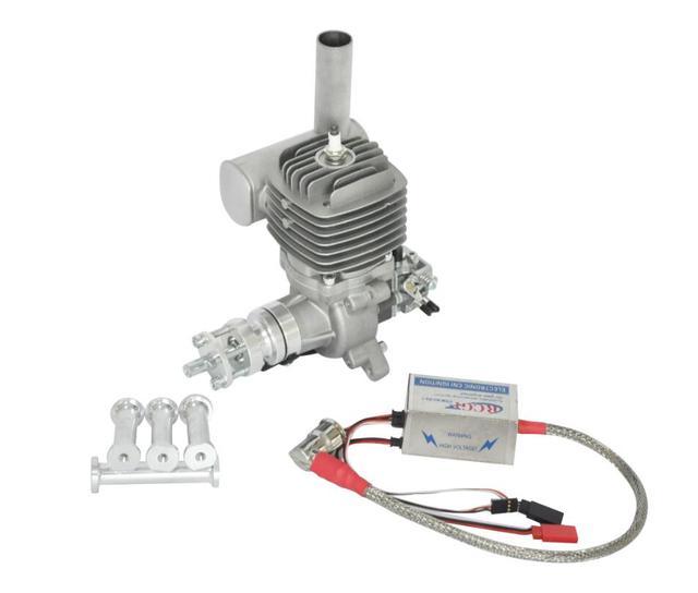 Moteur essence/essence RCGF 56CC avec carburateur Walbro pour modèle davion RC