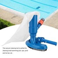 Mini piscina de chorros, aspirador de estanque, objetos flotantes, utensilios cepillo de limpieza, cabezal de succión, fuente de estanque, aspirador