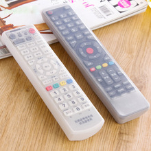 1Pcs Silicone TV Remote Control Dust Cover Storage Bag Protective Holder Organizer Home Item Gear Accessories Supplies Lot