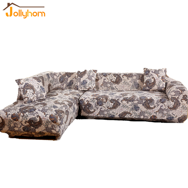 Modern Household Style Sectional Sofa Cover L shaped Long